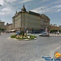 Rent apartments Lviv, Dragomanova st 4, near the house - nearby streets