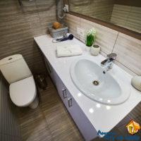Rent an apartment in Lviv, Smerekova st 2, bathroom, general view