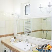 Посуточно квартира центр, ул Драгоманова 4, ванная комната, детали интерьера