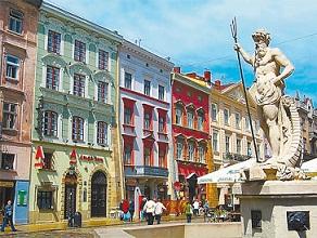 площадь рынок, Львов, квартиры посуточно | City of Lions