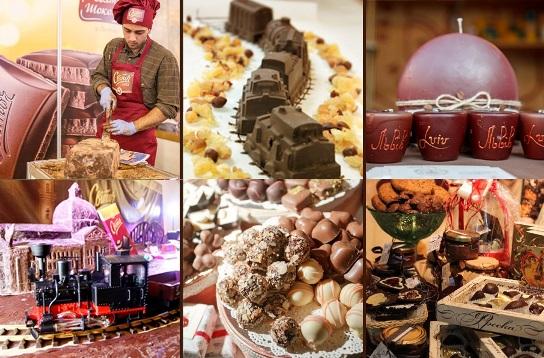 Праздник шоколада во львове 16-18 октября