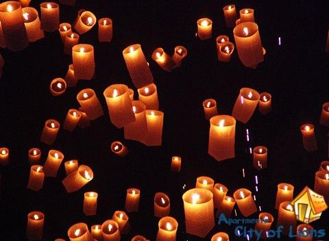 Фестиваль свечей во Львове | City of Lions