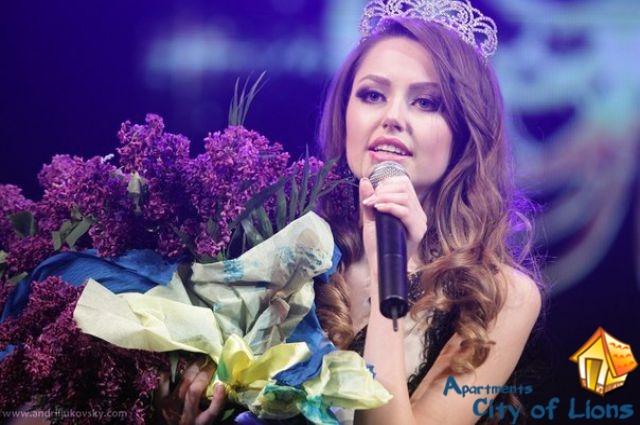 Андриана Хасаншин, мисс львова 2014