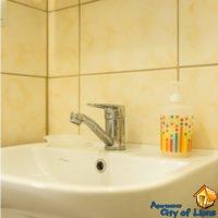 Аренда посуточно во львове на ул Римлянина 12, ванная комната, детали интерьера